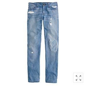 Size 27 Pamela Love for J. Crew skinny jean